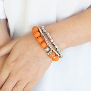 Rural Restoration- orange bracelet